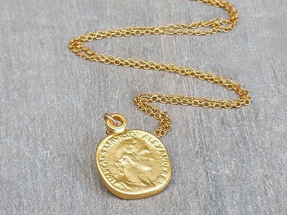 HL Collection Gold Coin Necklace | $29 | Photo Courtesy: HL Collection