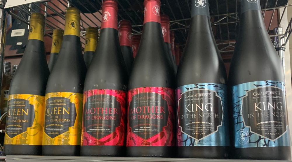 Ommegang Royal Reserve Game of Thrones Beer